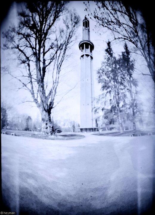 La tour Perret pour l'expo universelle de Grenoble