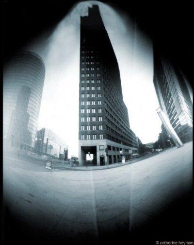 Photographie de Berlin; Les trois building de potsdammer
