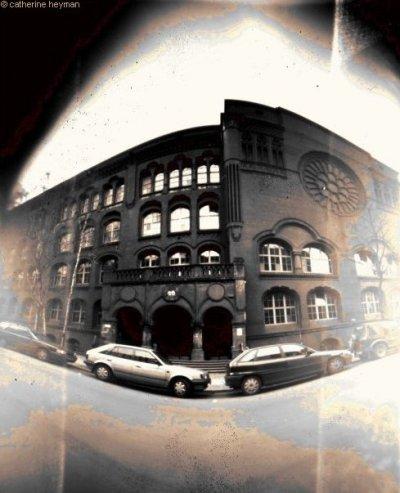 Photographie de Berlin Lycée technique a cote de la rue des acassias,