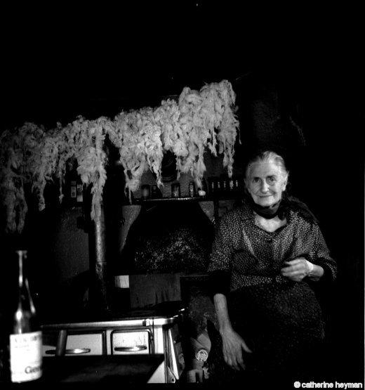 Mémé Vincent ou Joséphine Pontonier dans sa maison des Thibauds