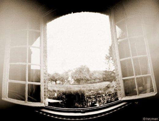 Routes, de la fenêtre.