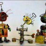 Les anciens tin toys