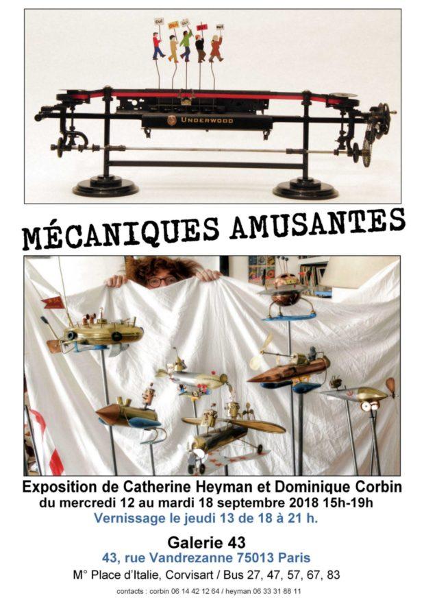 Exposition mécaniques automates et jouets en tole fabriqués maisons